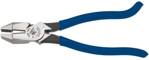 Klein Tools D213-9ST Ironworker Pliers are High Leverage, Twist and Cut Soft Annealed Rebar Tie Wire, 8-Inch